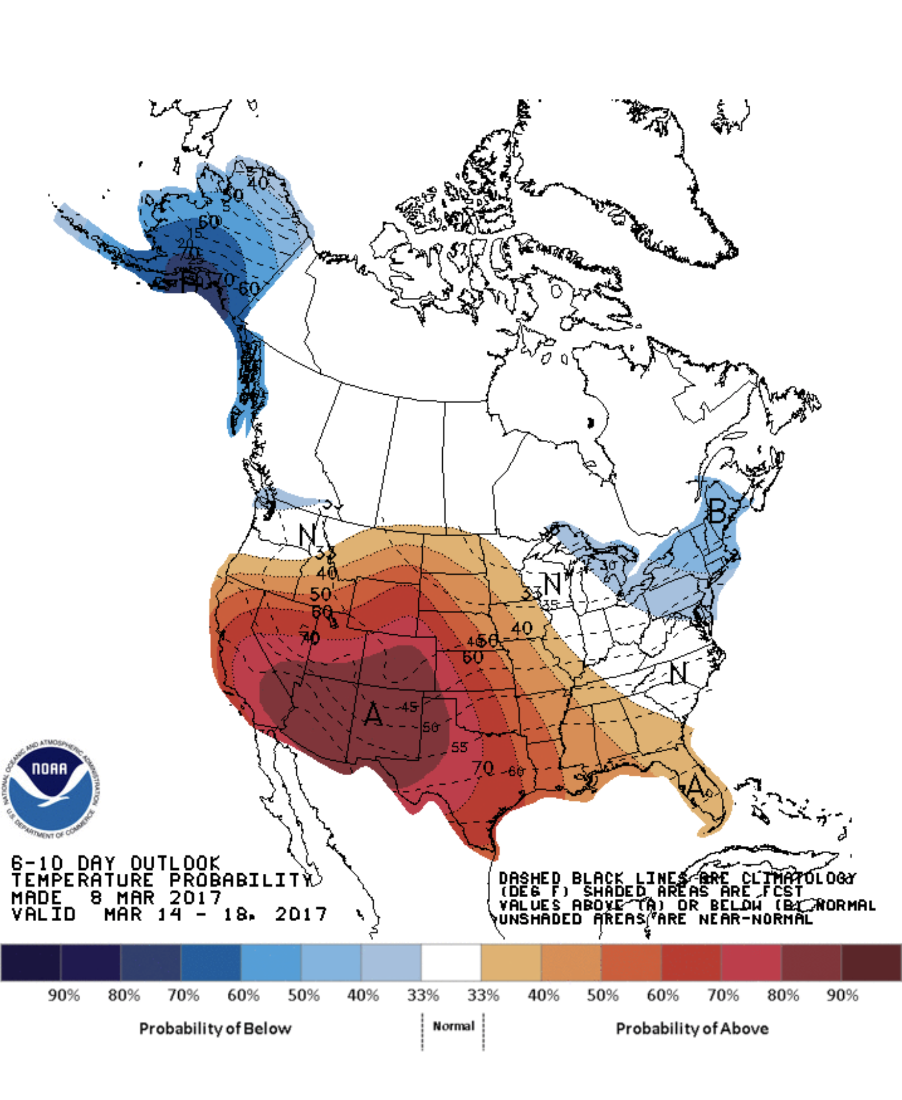 6-10 day temperature outlook. cpc.noaa.gov