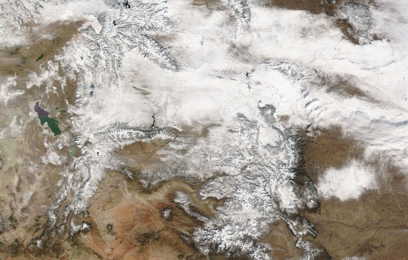 Monday view from Terra/Modis via EOSDIS Worldview