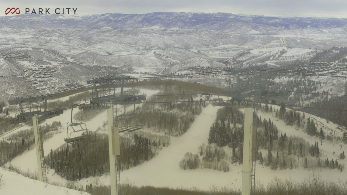 Webcam at Park City Mountain Resort's Crescent Ridge at 3:00 PM MST