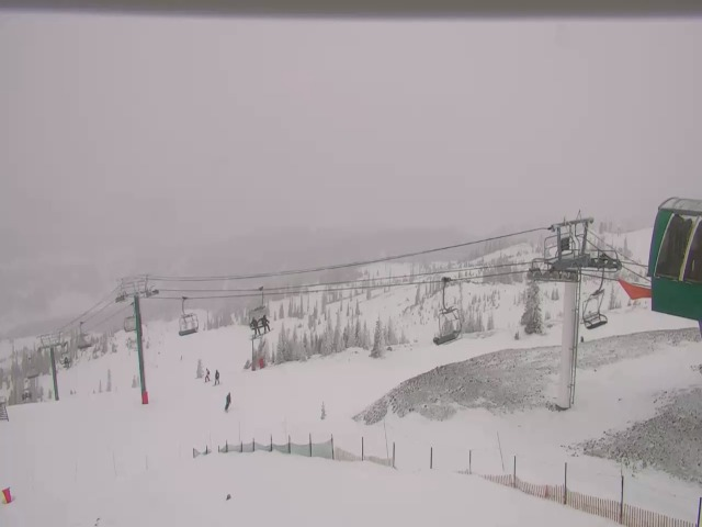 Conditions at 3:30 pm local time from Brian Head Resort's Chair Seven Webcam at 11,000 ft. (https://www.brianhead.com/winter/chair-seven-cam/)